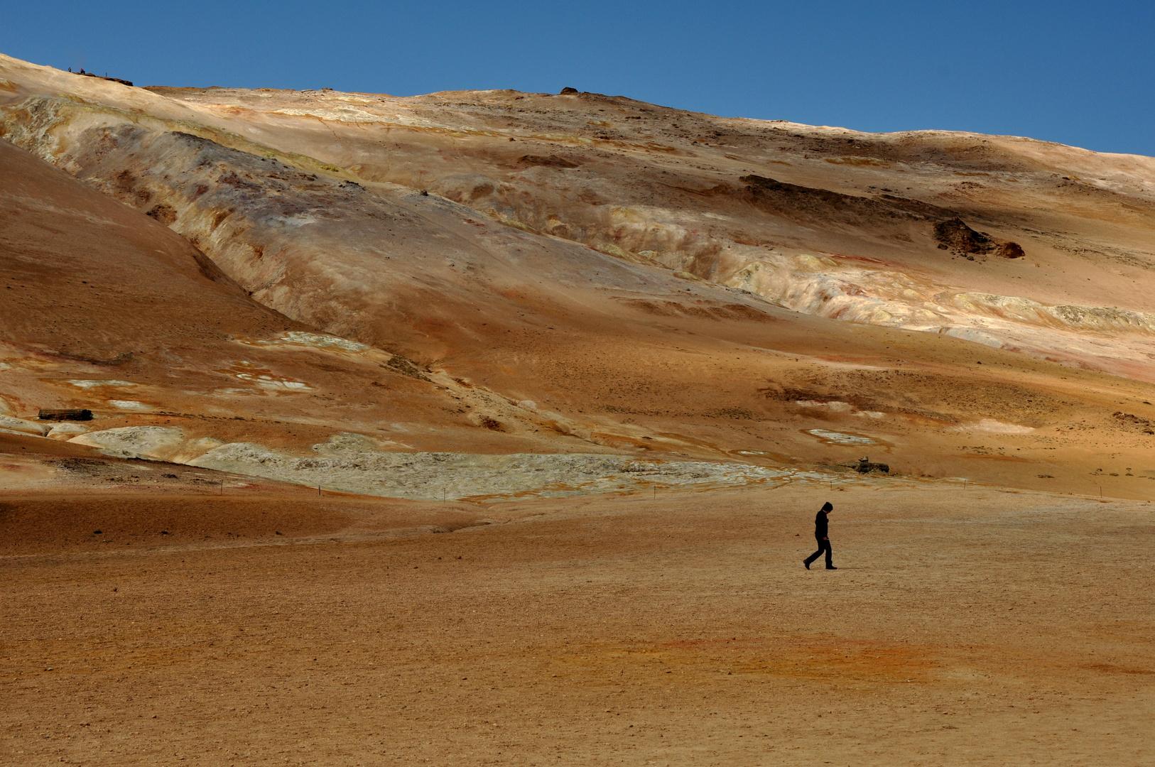 Schwefelquellen von Namaskard auf Island