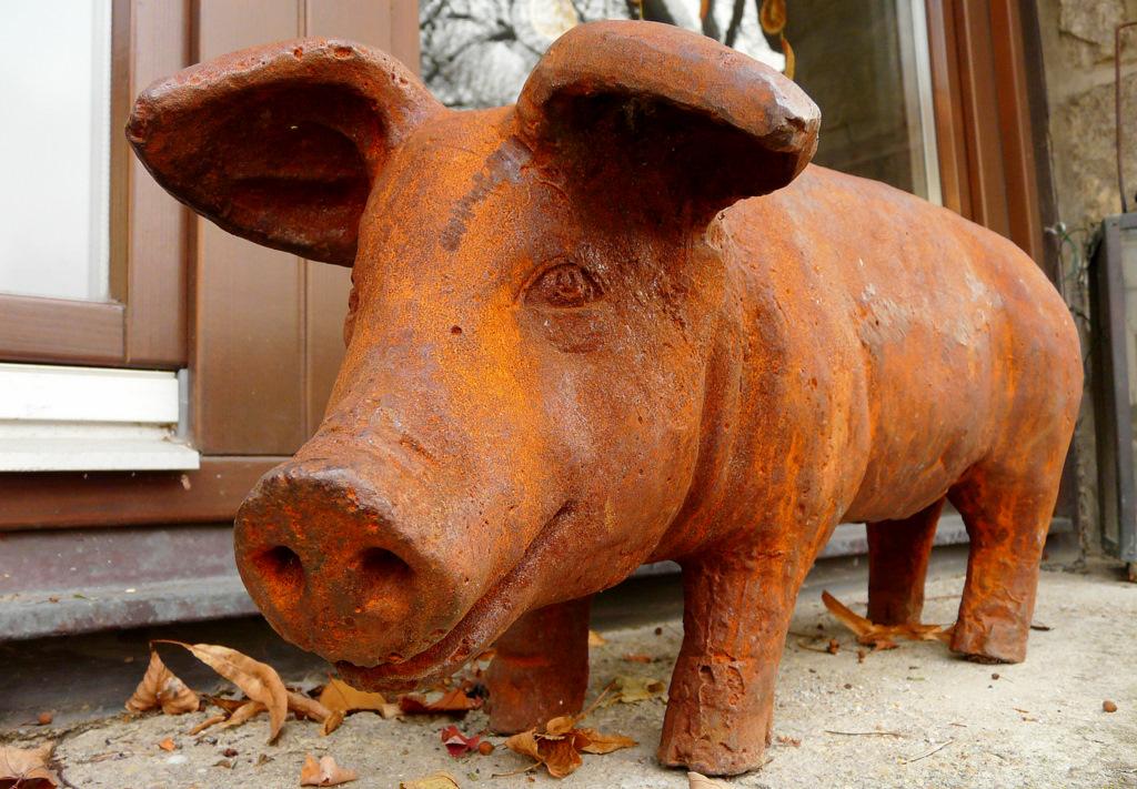 """. . """"Schwein gehabt, . . """". ."""