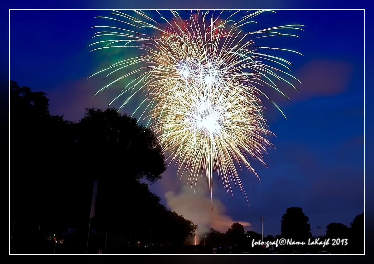 Schweinfurter Volksfest Abschlußfeuerwerk 2