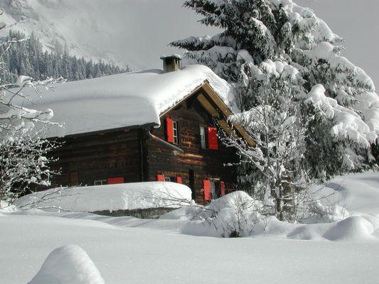 Schweiz im Winter