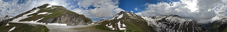 Schweiz * Wallis/Uri * Furkapass * Passhöhe 2436 MüM