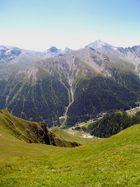 Schweizer Berglandschaft
