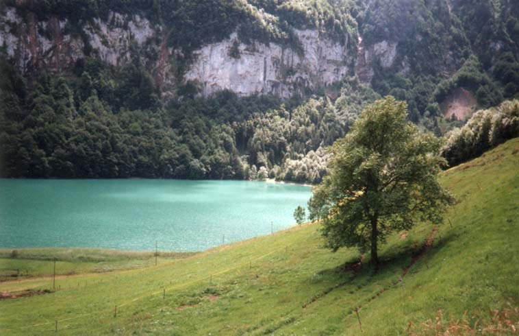 Schweizer Bergsee