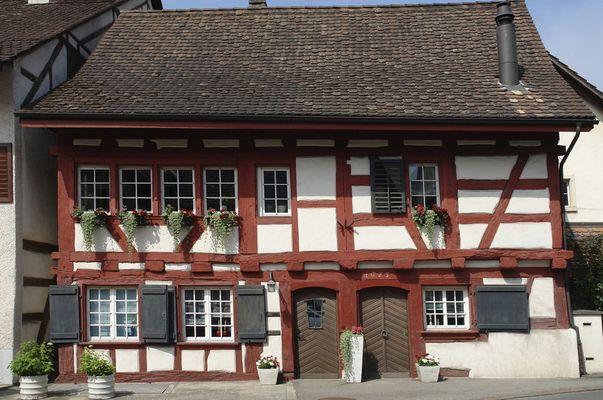 Schweizer Fachwerkhaus