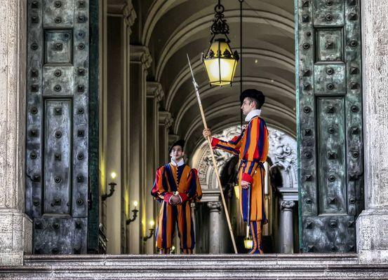 Schweizer Garde in Rom