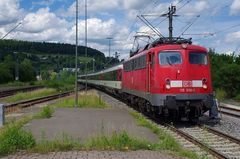 Schweizer Intercity in Tuttlingen