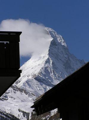 Schweizer Matterhorn Idylle