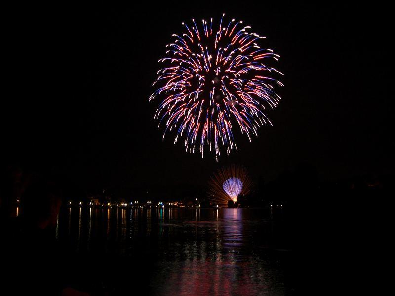 Schweizer Nationaltag / Feuerwerk
