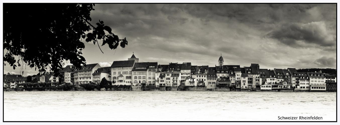 Schweizer Rheinufer Rheinfelden