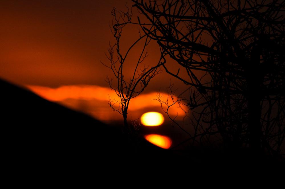 Schwelmer Sonnenuntergang