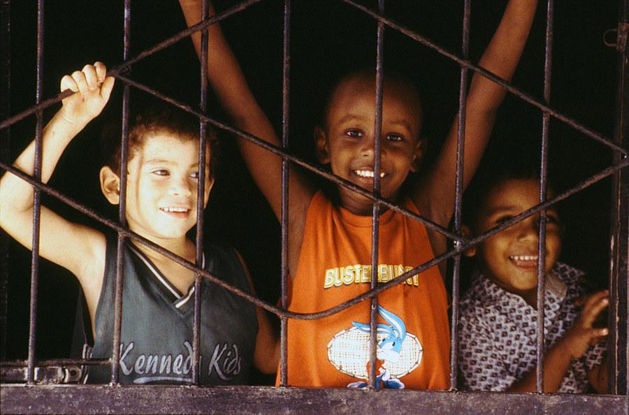 Schwere Jungs hinter Gitter