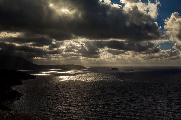 Schweres Wetter vor Dubrovnik
