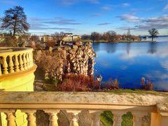 Schwerin Schlossinsel Steingrotte am Schweriner See