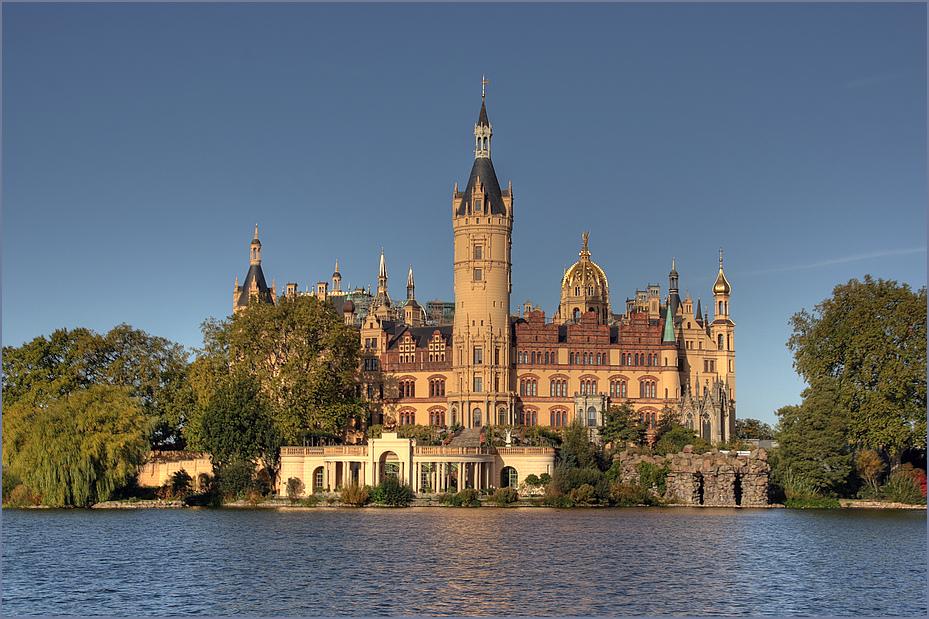 Schweriner Schloss Foto & Bild   deutschland, europe, mecklenburg ...