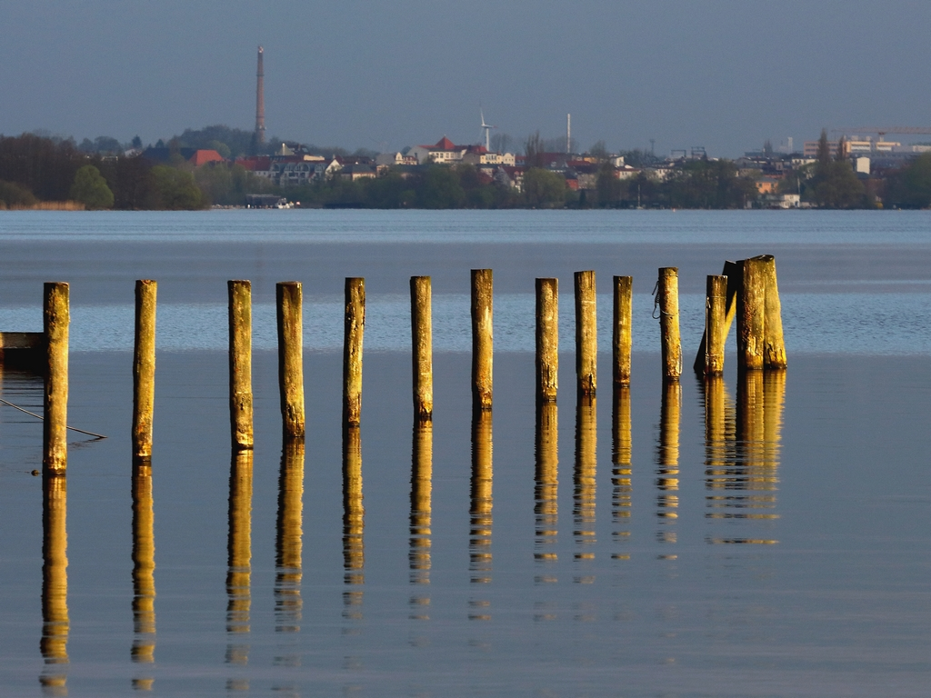Schweriner See heute Früh