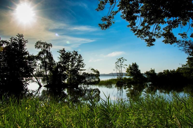 Schweriner See - Landschaftsansicht