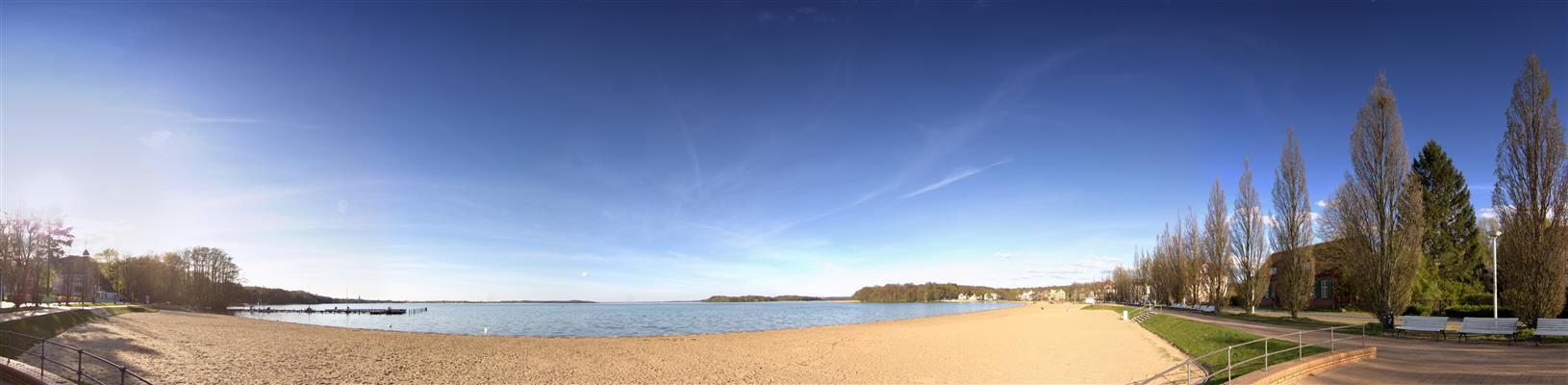 Schweriner See Zippendorfer Strand
