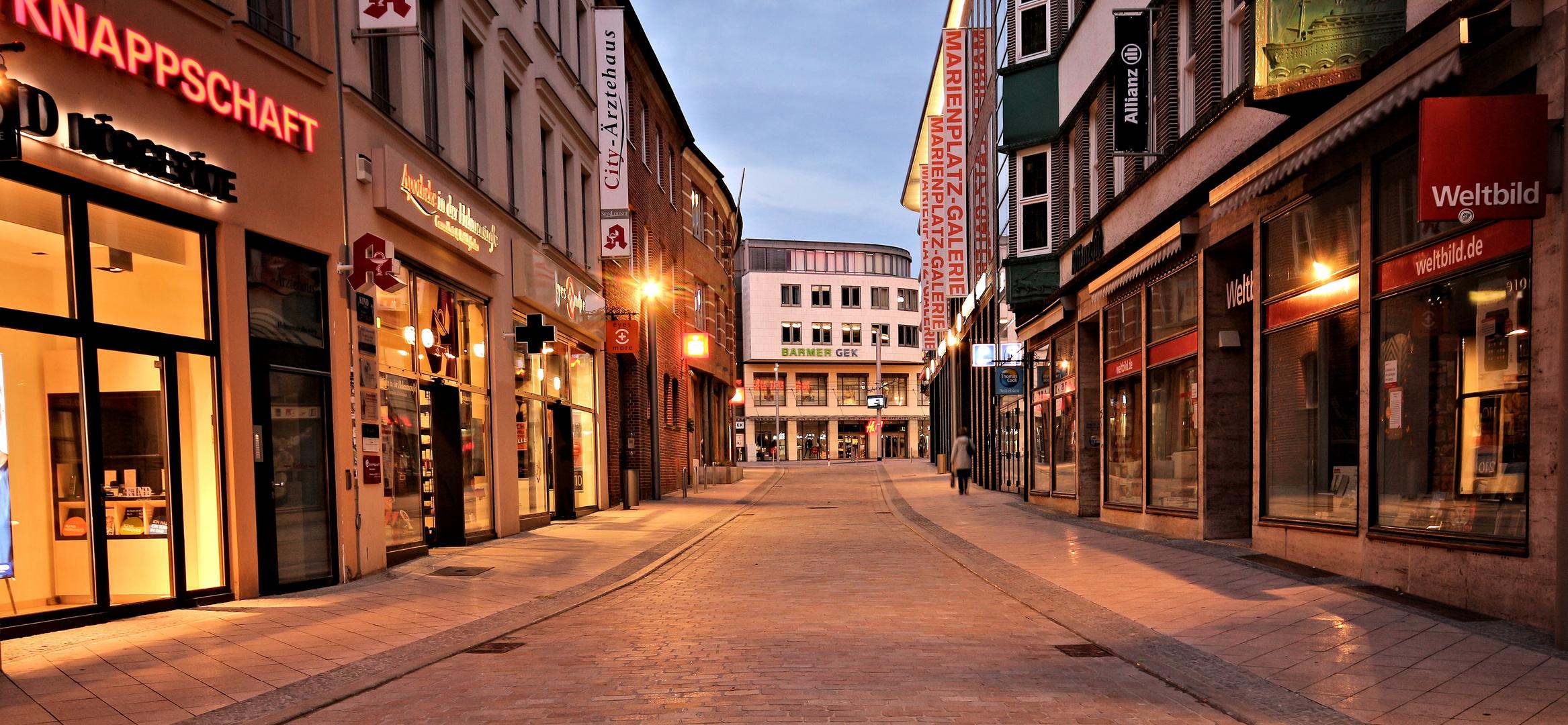 Schweriner Stadtansicht - ein Versuch einer LZA