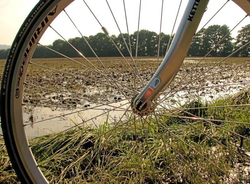 Schwerte und der überschwemmte Ruhrtalweg