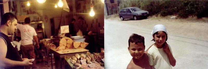 Schwertfisch und sizilianische Kinder