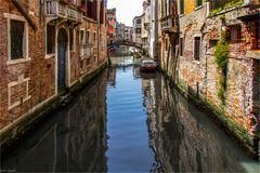 Schwierig wird es in Venedig ...