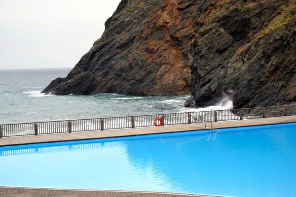 Schwimmbad auf Gomera