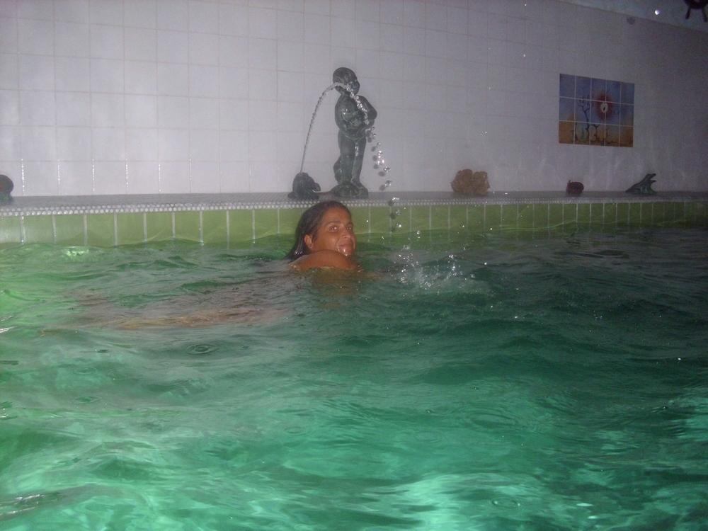 schwimmen macht glücklich....