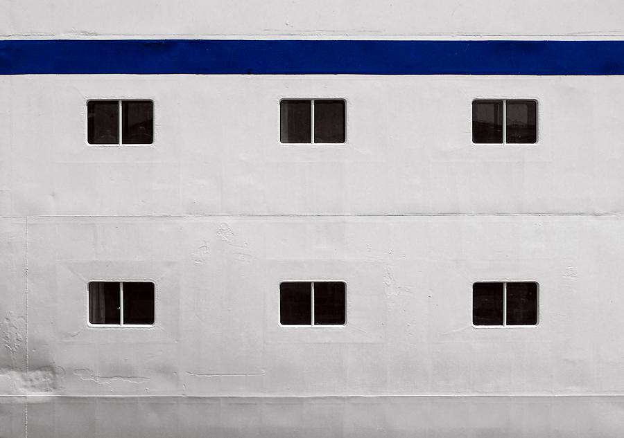 Schwimmende Fassade
