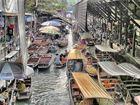 Schwimmender Markt Bangkok 3