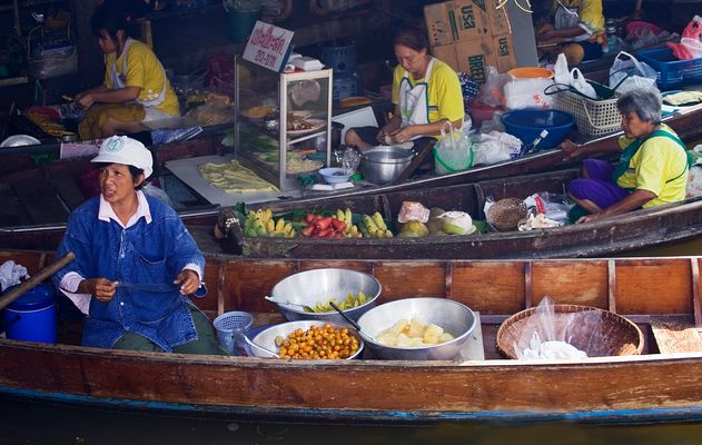 Schwimmender Markt, Bangkok