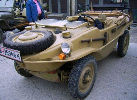 Schwimmwagen von VW - Einsatz im 2. Weltkrieg