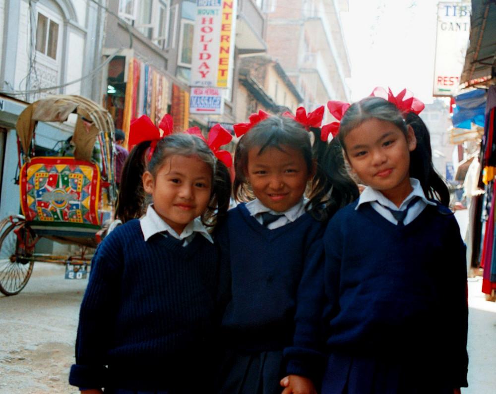 Scolarette nepalesi