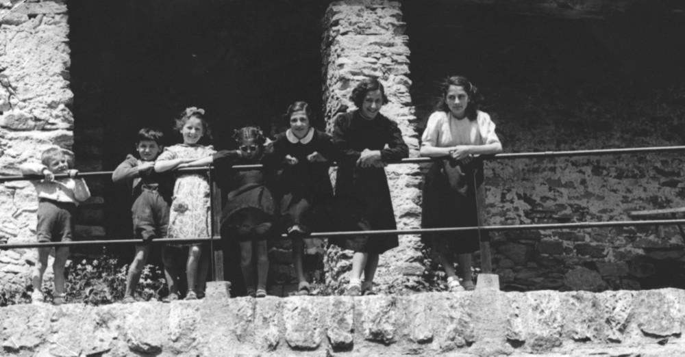 Scolari di Crana Onsernone CH nel 1952