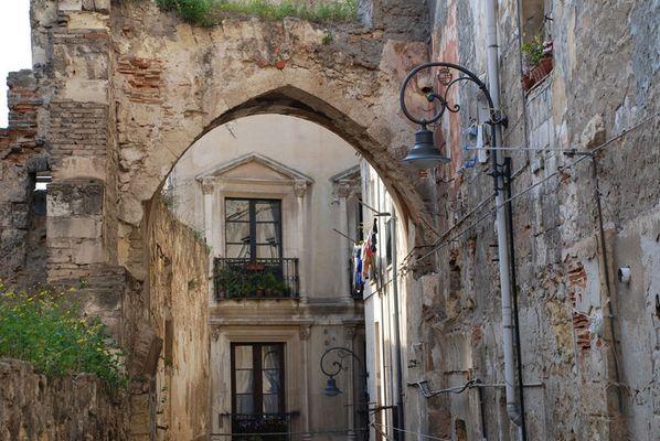 Scorci di Cagliari zona Castello