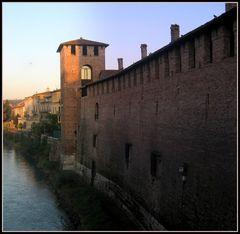 Scorcio del castello scaligero