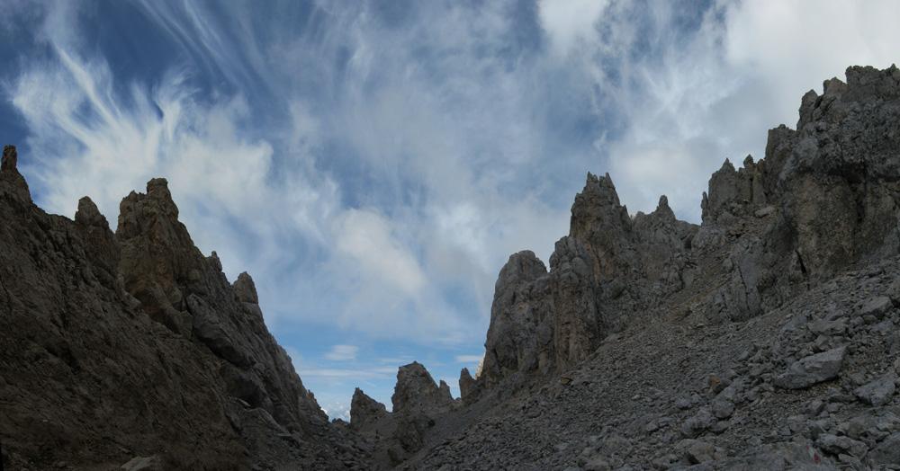 Scorcio di Dolomiti