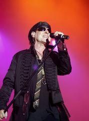 "Scorpions Sänger Klaus Meine beim Festival ""Rock for Nature"""