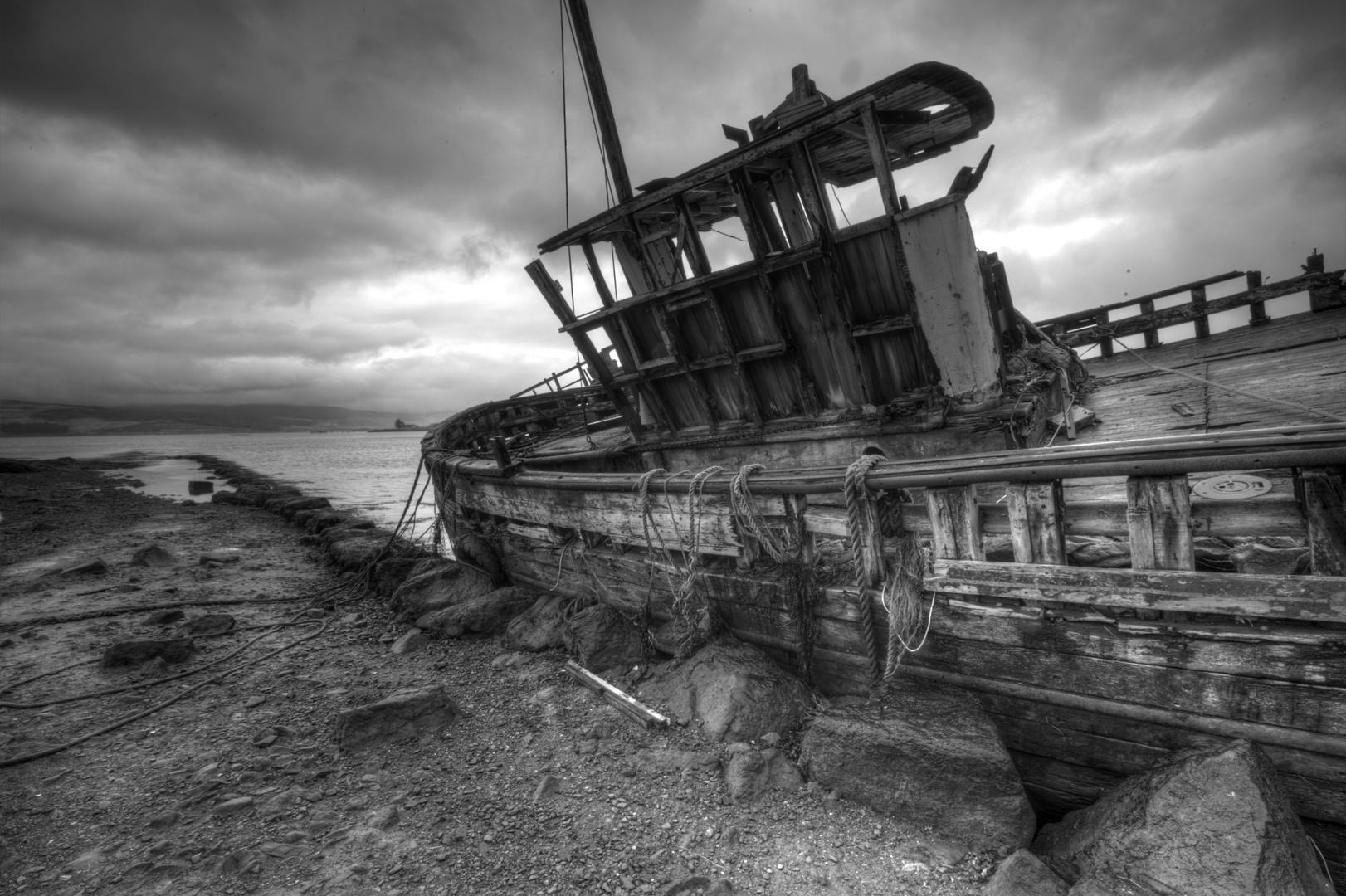 scotish wreckage