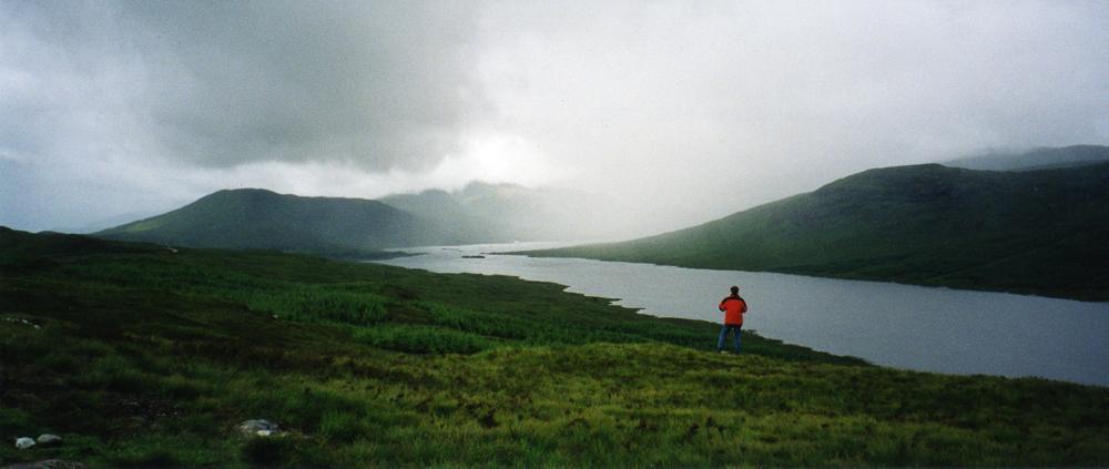 Scotland - A loch in the Mist