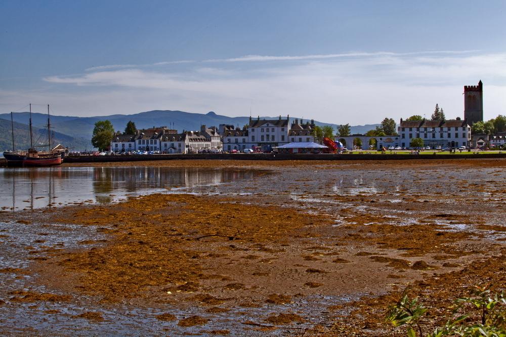 - Scotland - am Loch Fyne - Inveraray -
