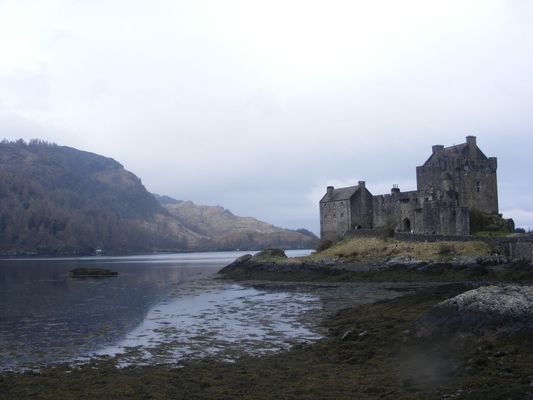 Scotland, Eilian donan castle