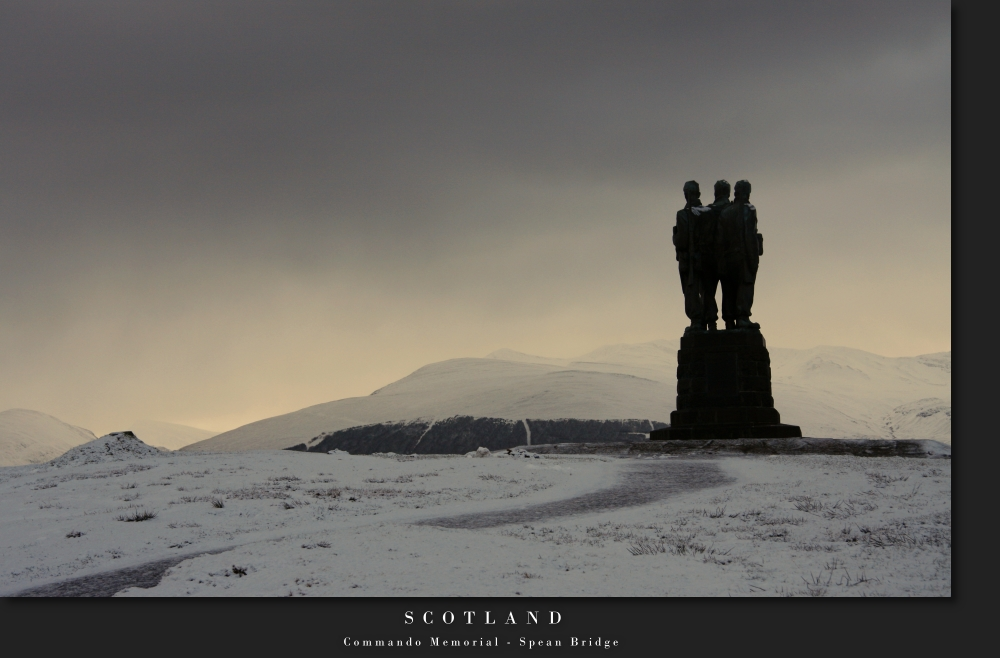 Scotland V - Command Memorial - Spean Bridge