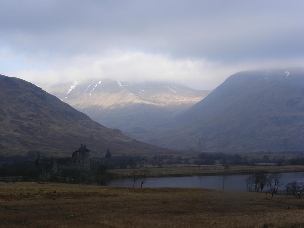 Scotland's castle, end's world landscape