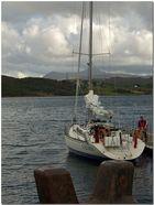 Scottish skies XVII. Ready to sail