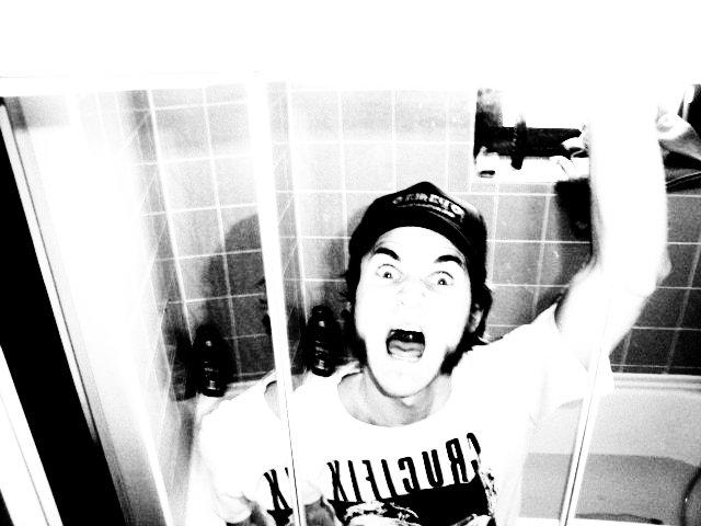 scream in the bathroom