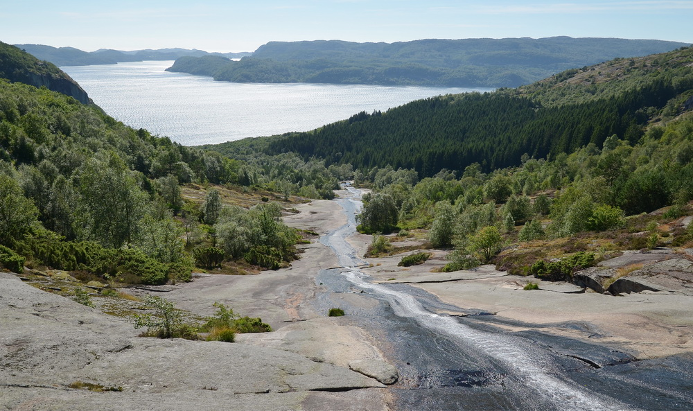Screlia Wasserfall - Südnorwegen