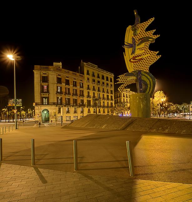 Sculptur EL CAP DE BARCELONA...