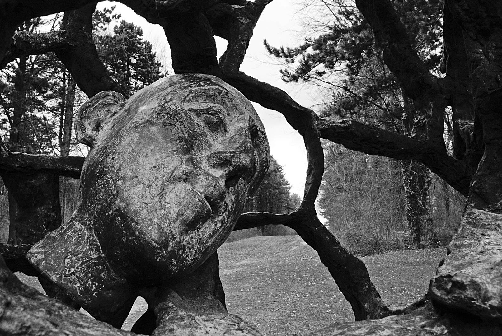 Sculpture au Plateau de Californie, Aisne
