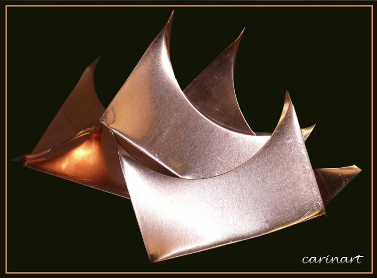 Sculpture de cuivre / Skulptur aus Kupfer