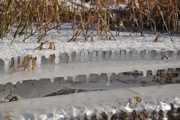 Sculpture de la nature par le froid ... (2)